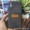 Ốp lưng iPhone X/XS Kanjian vải