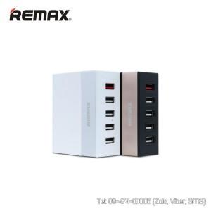 Sạc nhanh 5 cổng USB Remax chính hãng