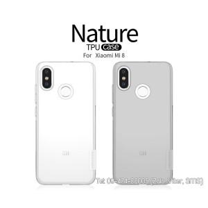 Ốp lưng Xiaomi Mi 8 silicon chính hãng
