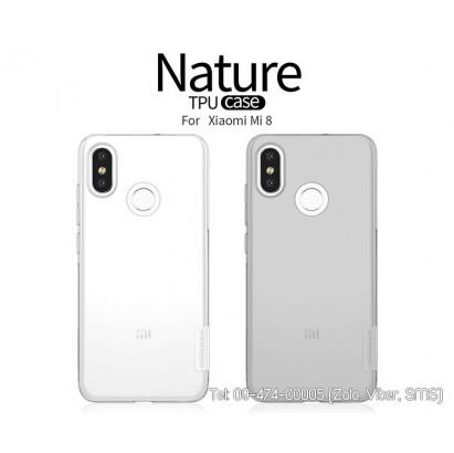 Ốp lưng Xiaomi Mi 8 silicon Nillkin chính hãng