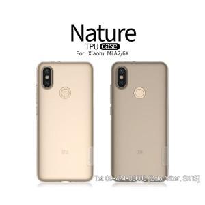 Ốp lưng Xiaomi 6X/A2 Silicon Nillkin chính hãng
