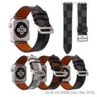 Dây đồng hồ Apple Watch LV chất liệu da đủ size