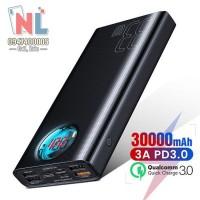 Pin dự phòng sạc nhanh Baseus Amblight 30,000mAh - 33W cho Smartphone/ Tablet/ Macbook/ Laptop (33W PD & QC3.0 , 4*Port USB+ Type C in/out, LED Display)