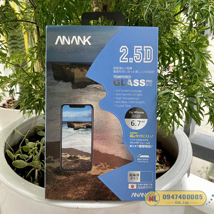 cường lực iphone 12 pro max anank nhật bản