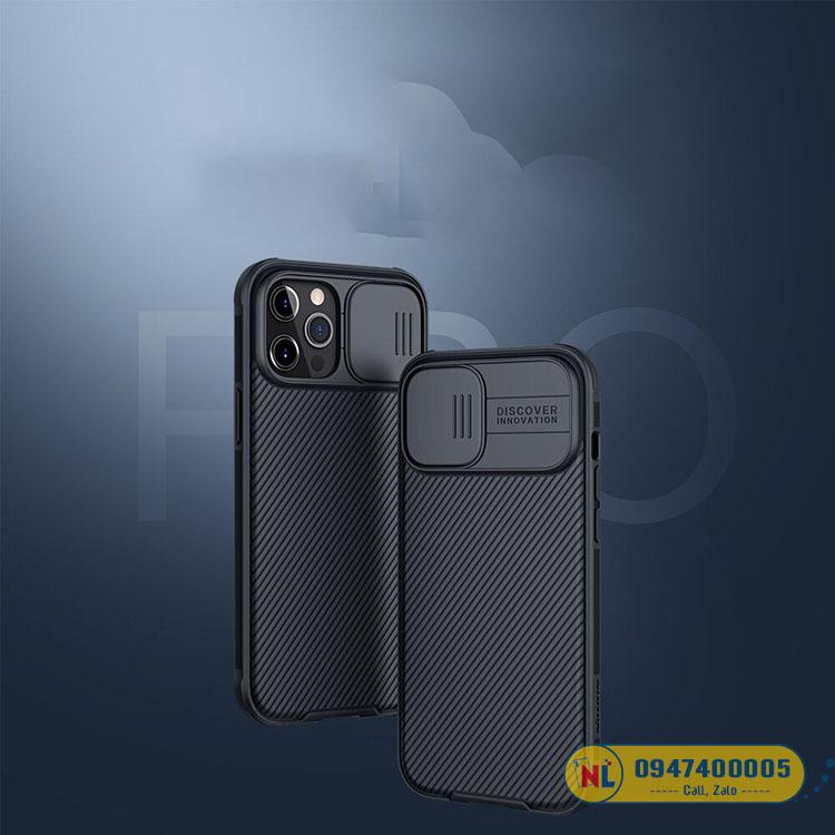 ốp lưng iphone 12 pro max nillkin camshield