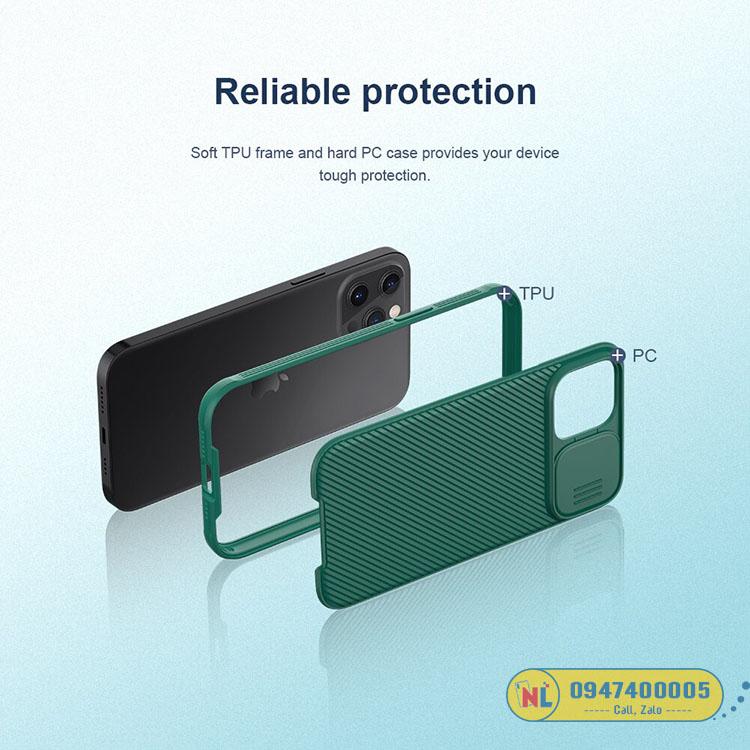 ốp iphone 12 pro max nillkin