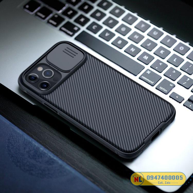 ốp iphone 12 pro max nillkin camshield