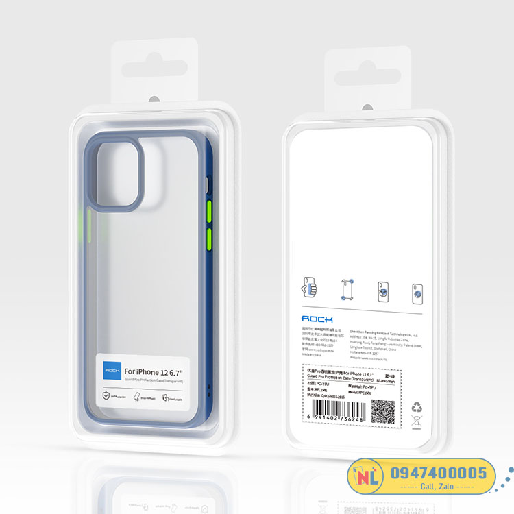 ốp trong suốt iphone 12 pro max
