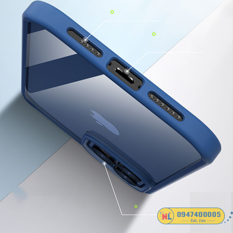 ốp lưng trong iphone 12 pro max rock