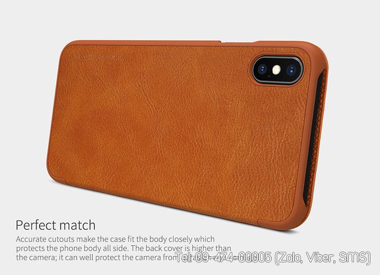bao da iphone xs plus (max) 6.5inch qin