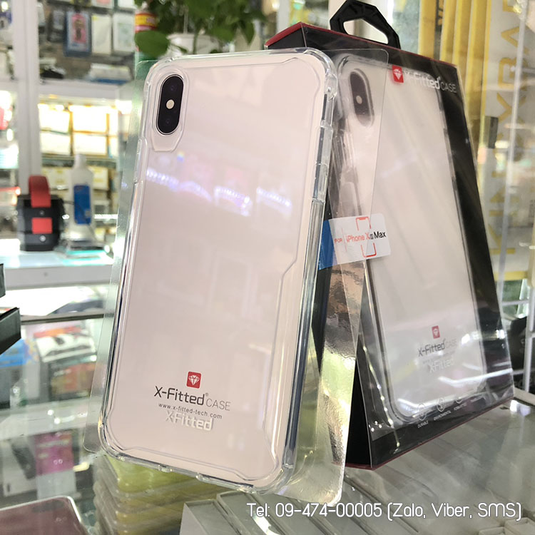 ốp lưng iphone xs max silicon chống sốc