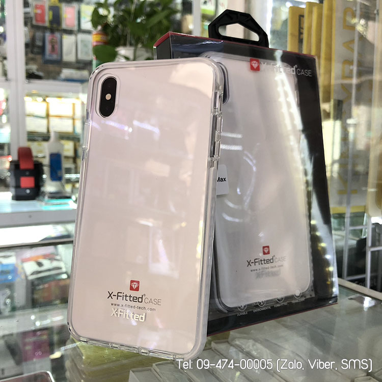 ốp lưng iphone xs max x-fitted