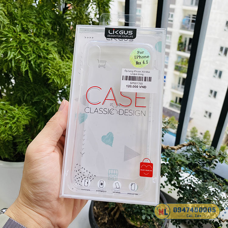 op lung iphone xs max trong cao cấp