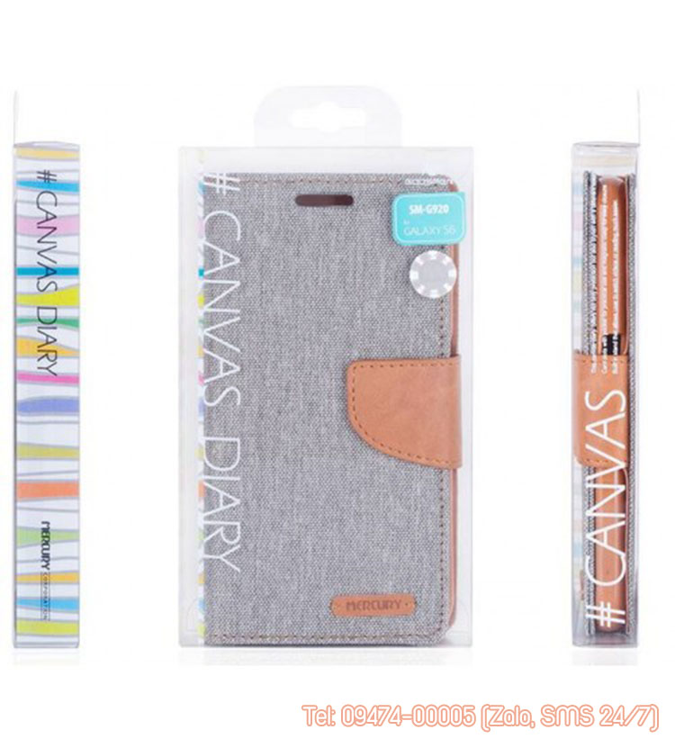 bao da iphone 6 6s mercury canvas diary