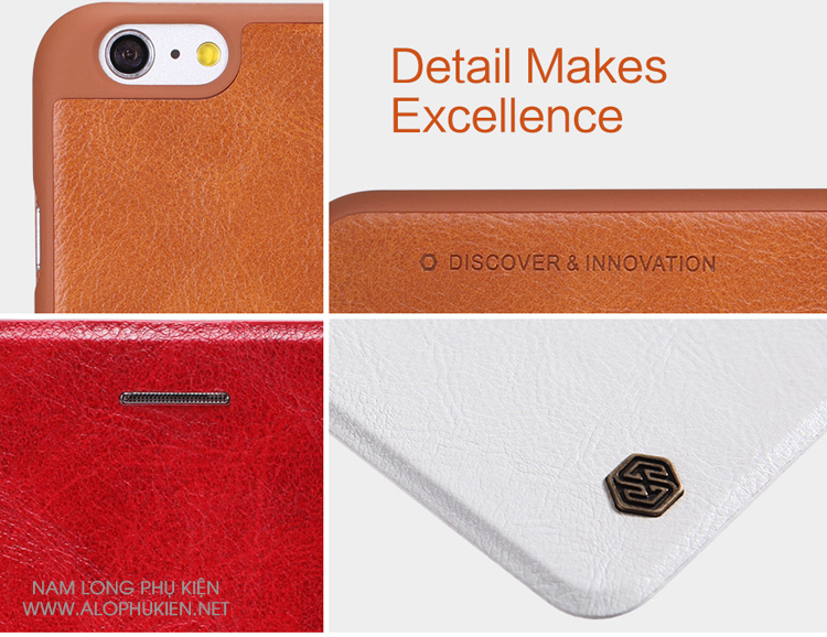 Bao da Iphone 6 Plus chính hãng nillkin