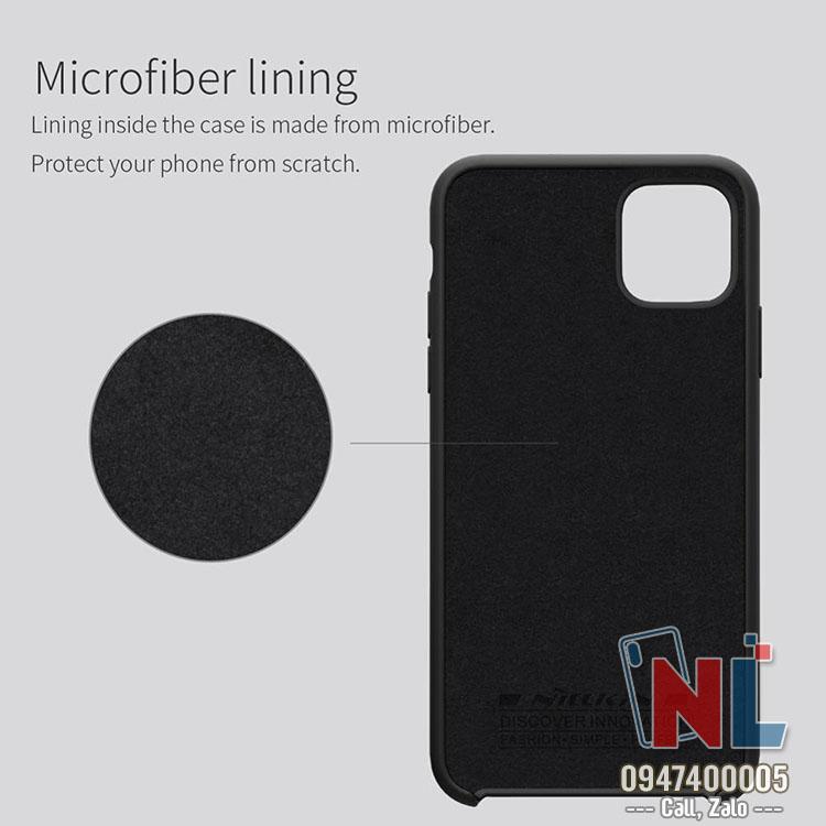 ốp lưng iphone 11 6.1 silicon nillkin