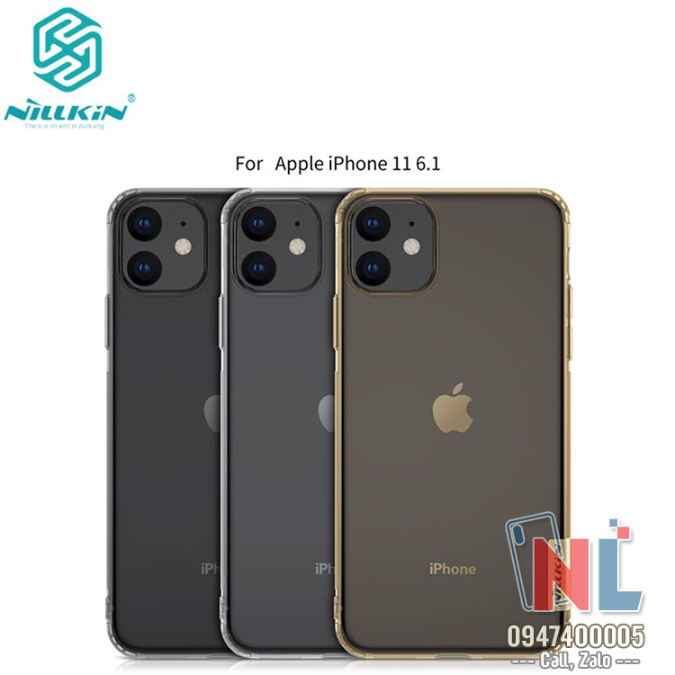 ốp iphone 11 6.1 dẻo trong