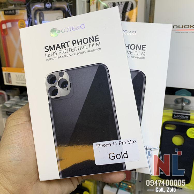 khung kính bảo vệ camera iphone 11