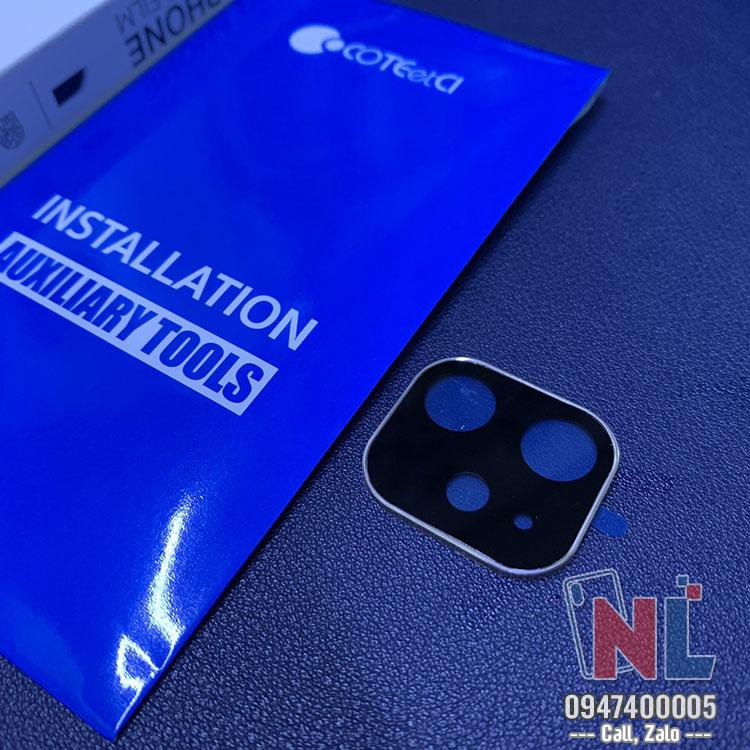 khung kính bảo vệ camera iphone 11 tphcm