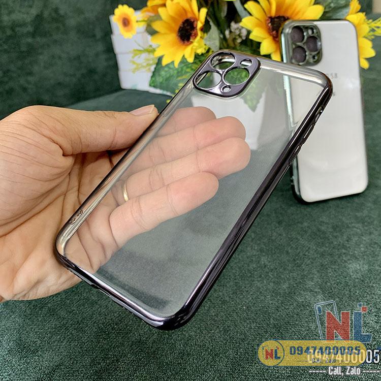 ốp lưng iphone 11 pro max likgus viền màu