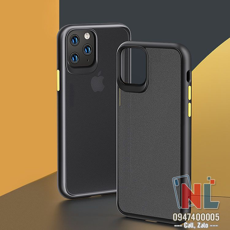 ốp lưng iphone 11 Pro Rock Hybrid silicon