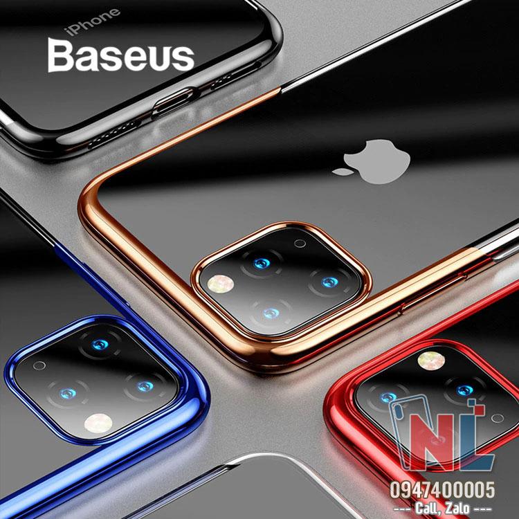 ốp lưng silicon iphone 11 pro baseus
