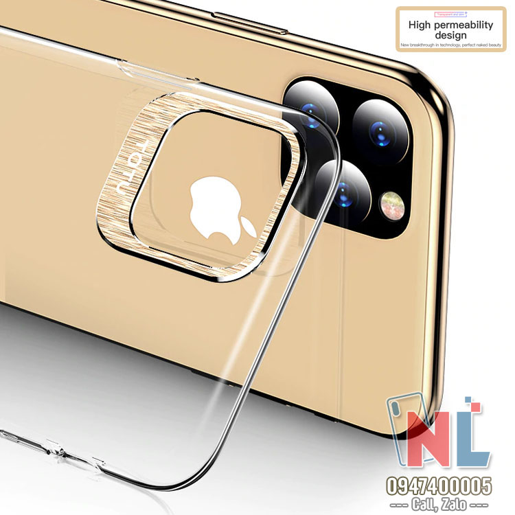 ốp lưng iphone 11 pro max cứng trong totu