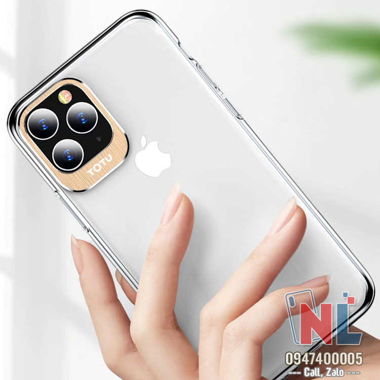 ốp lưng iphone 11 cứng trong totu