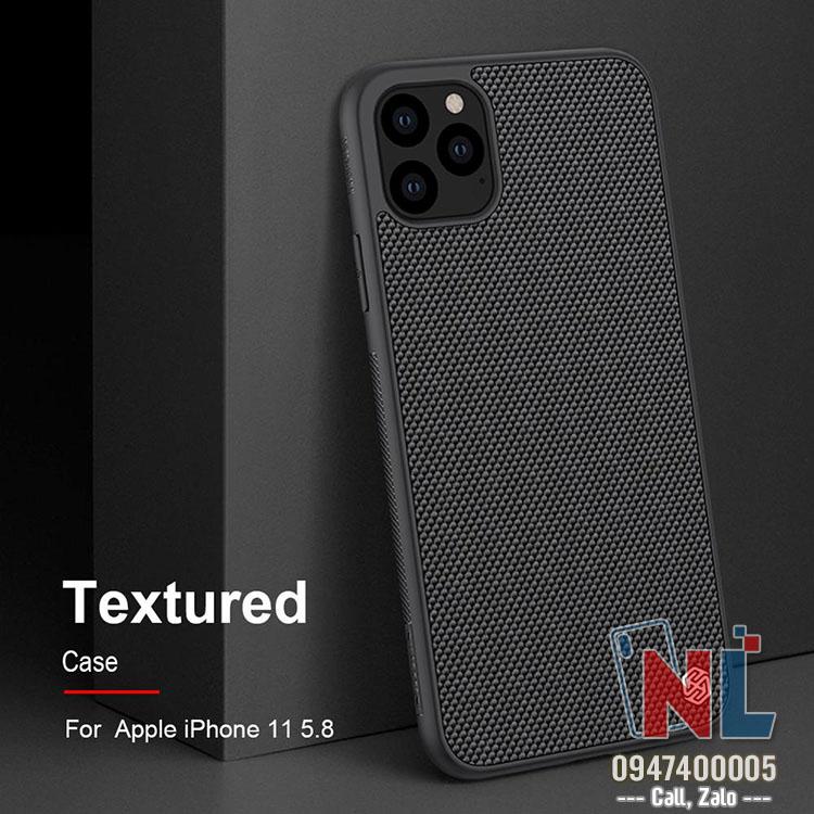 Ốp lưng iPhone 11 Nillkin Textured chính hãng