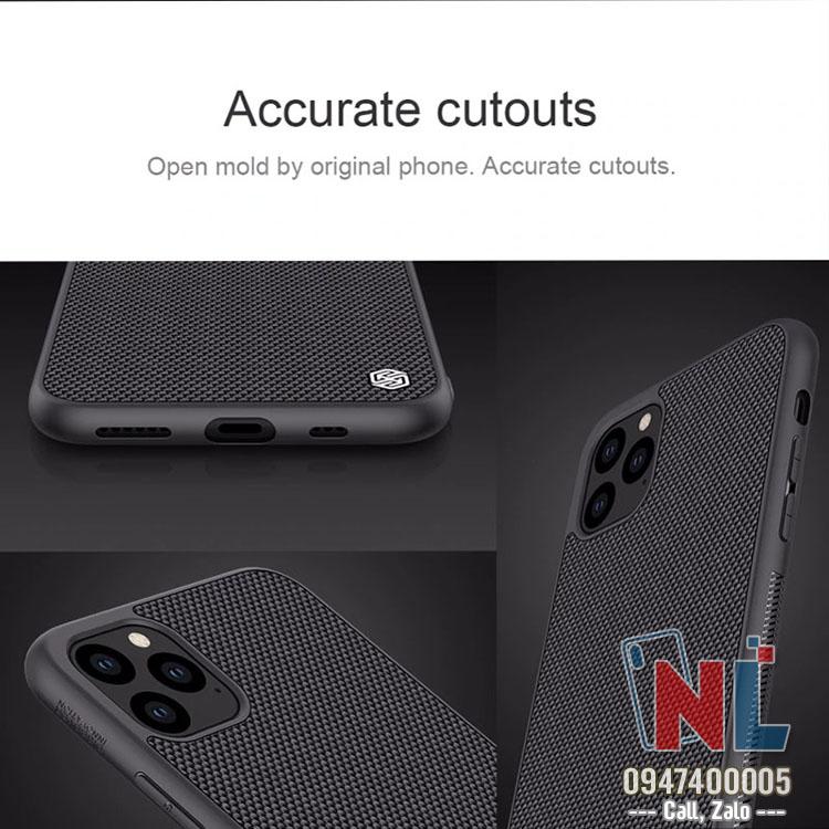 Ốp lưng iPhone 11 Pro Max Nillkin Textured chính hãng