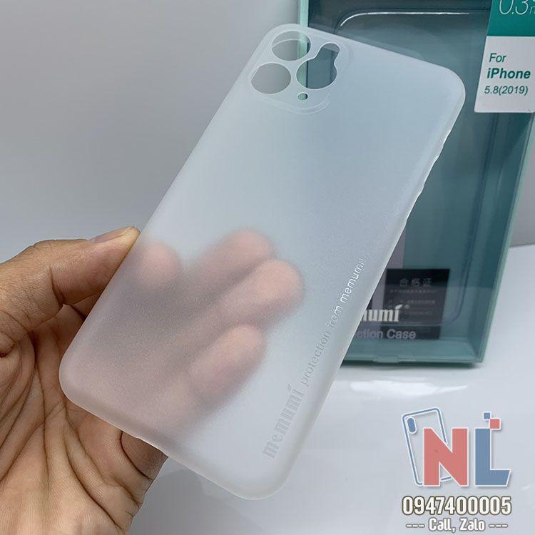 ốp lưng iPhone 11 siêu mỏng memumi