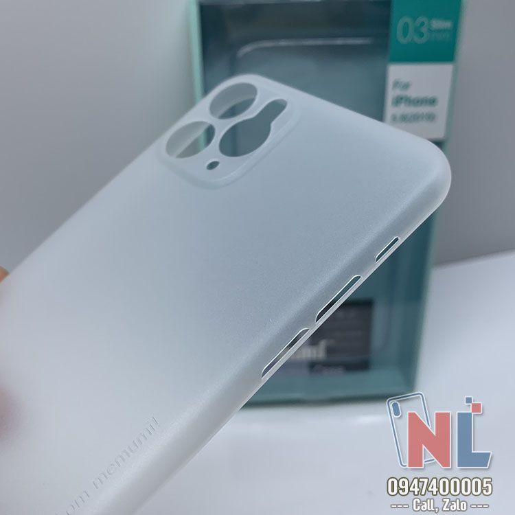 ốp lưng iPhone 11 pro max 0.3mm