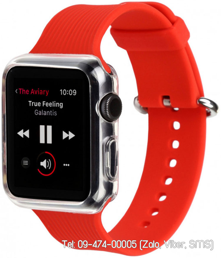 dây apple watch silicon