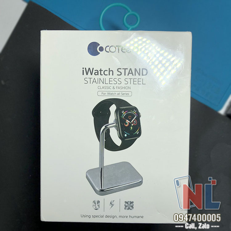 sạc iwatch coteetci wireless fast charging